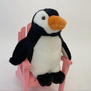 """10.5"""" Vtg 90s Penguin Plush Toy Stuffed Animal"""
